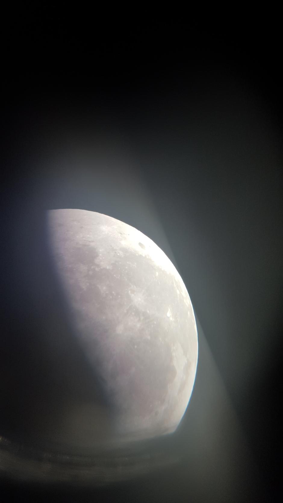 Luna desde Cañadas del Teide
